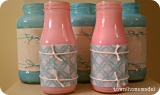 {Tutorial} Painted Jars