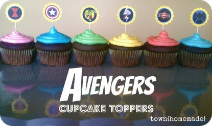 avengers cupcakes thm