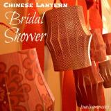Chinese Lantern BridalShower