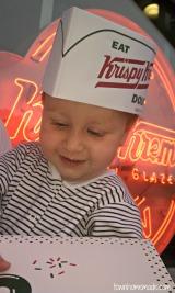 Abbie's first Krispy Kremerun