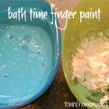 Bath Time Finger Paint
