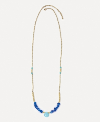 15-7-15 blue noonday necklace
